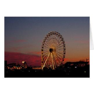 Ferris Wheel, OCNJ Greeting Card