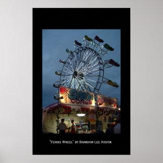 Ferris Wheel Poster