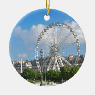 Ferris wheel round ceramic decoration