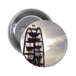 Ferris Wheel Silhouette Pinback Buttons