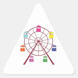 Ferris Wheel Triangle Stickers
