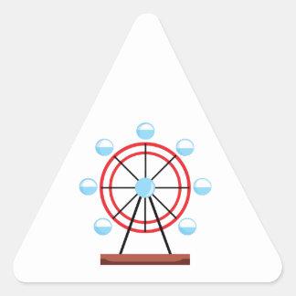 Ferris Wheel Triangle Sticker
