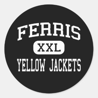Ferris - Yellow Jackets - High - Ferris Texas Stickers