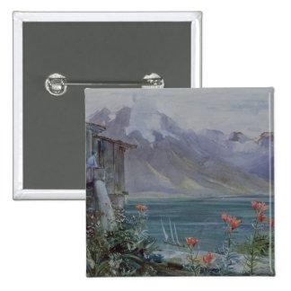 Ferritet, Lake Geneva, 1882 15 Cm Square Badge