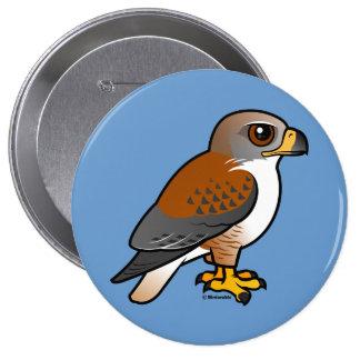 Ferruginous Hawk Button