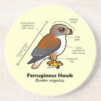 Ferruginous Hawk Statistics Coasters