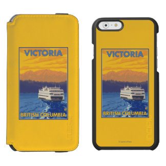 Ferry and Mountains - Victoria, BC Canada Incipio Watson™ iPhone 6 Wallet Case