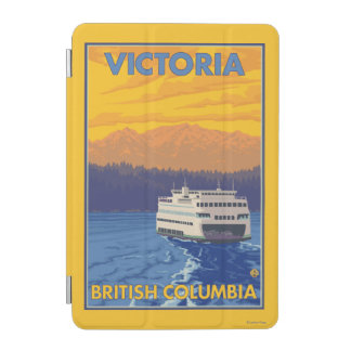 Ferry and Mountains - Victoria, BC Canada iPad Mini Cover