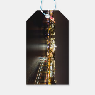 Ferry at night gift tags