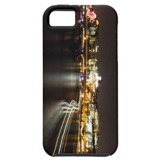 Ferry at night iPhone 5 cover