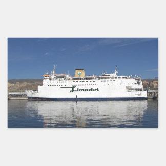 Ferry Beni Ansar Rectangular Stickers
