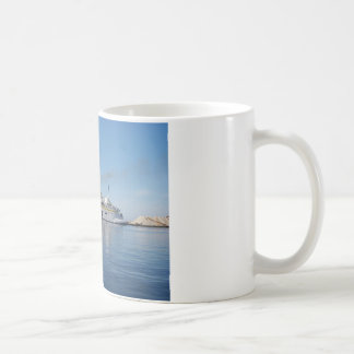 Ferry Berkane Leaving Harbor Coffee Mugs