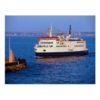 Ferry between Sweden and Denmark, Helsingborg Postcard