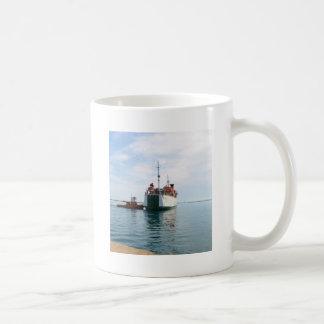 Ferry Bozcaada Basic White Mug