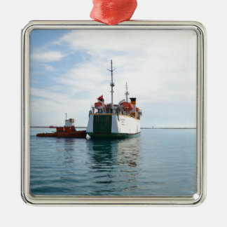 Ferry Bozcaada Christmas Ornament