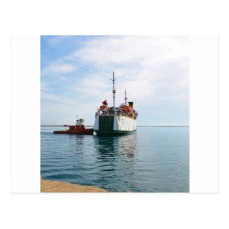 Ferry Bozcaada Postcard