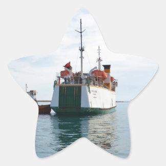 Ferry Bozcaada Star Sticker