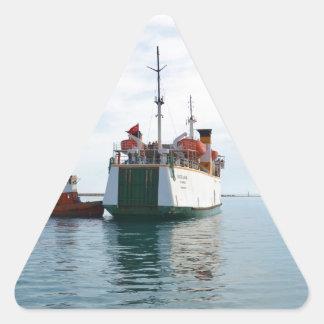 Ferry Bozcaada Triangle Sticker
