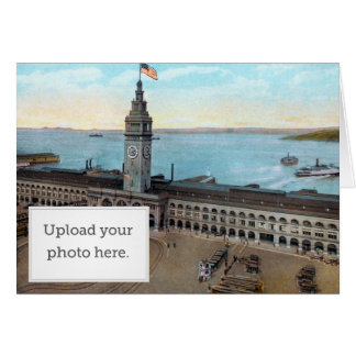 Ferry Building 1910 Greeting Card
