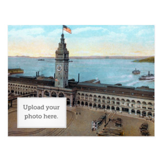 Ferry Building 1910 Postcard