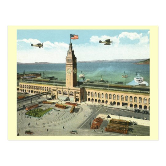 Ferry Building, San Francisco Postcard