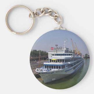 Ferry In Odessa Keychain