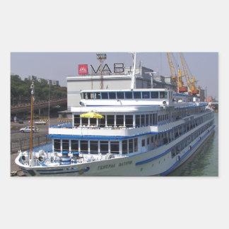 Ferry In Odessa Sticker