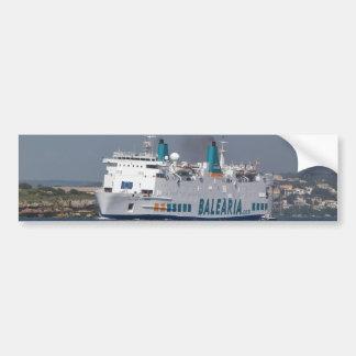 Ferry Isla De Botafoc Bumper Stickers