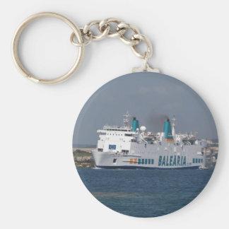 Ferry Isla De Botafoc Keychains