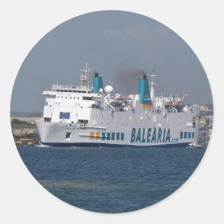 Ferry Isla De Botafoc Sticker