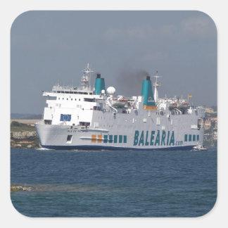 Ferry Isla De Botafoc Stickers