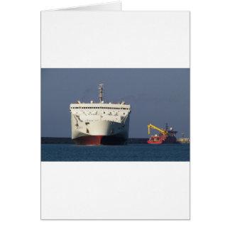Ferry Kriti I. Greeting Card