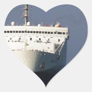 Ferry Kriti I Heart Sticker