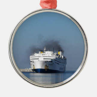 Ferry Lissos Silver-Colored Round Decoration