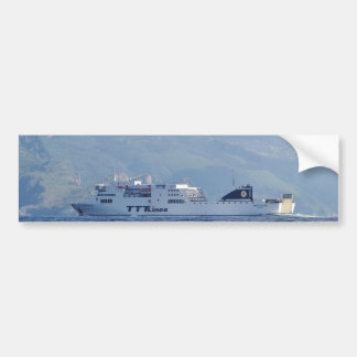 Ferry Partenope Bumper Sticker