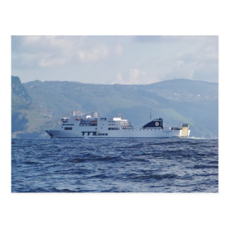 Ferry Partenope Postcard