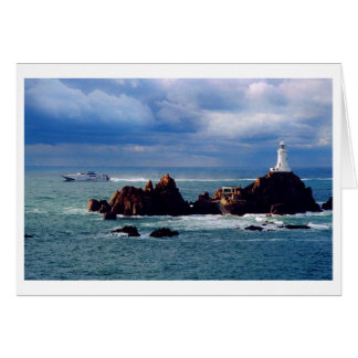 FERRY PASSES CORBIERE LIGHTHOUSE CARD