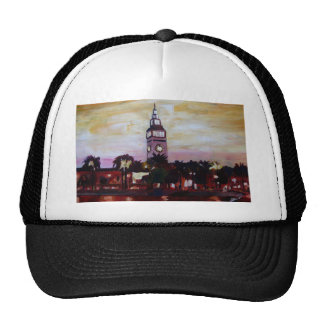 Ferry Plaza Building in San Francisco California Mesh Hat