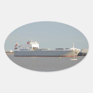 Ferry Severine Oval Sticker