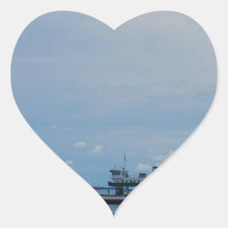Ferry Heart Sticker