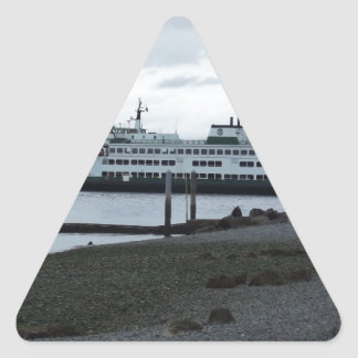 Ferry Triangle Stickers