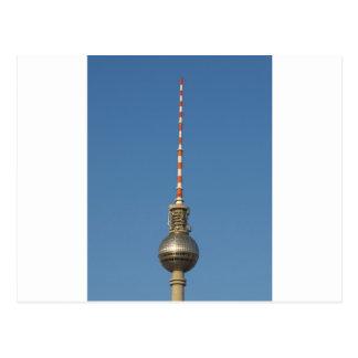 Fersehturm Television Tower Berlin Germany Postcard