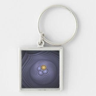 Fertility Square Key Ring Keychain
