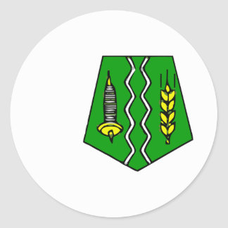 Fes, Morocco Round Sticker