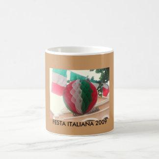 FESTA ITALIANA 2009 COFFEE MUGS
