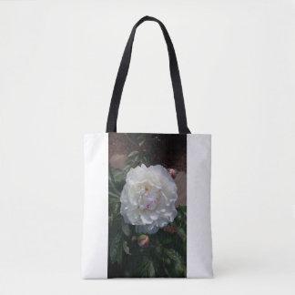Festiva Maxima Peony Tote Bag