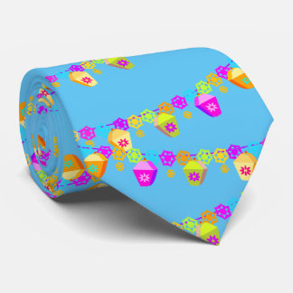 festival and holiday decorations. Blue Tie
