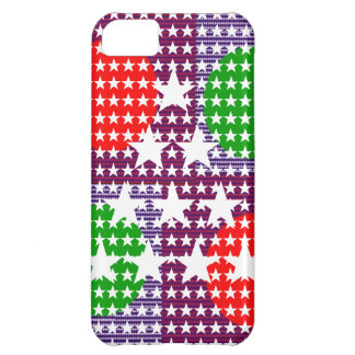 Festival Decorations Star Moon Sparkle Case For iPhone 5C