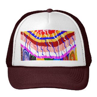 Festival Decorative TENT awning canopy sunshade Mesh Hats