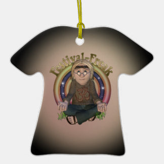 Festival Freak Personalized T-Shirt Ornament